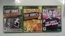 TONY HAWK'S American Wasteland / Underground 1 & 2 - XBOX - Pal Fr. -