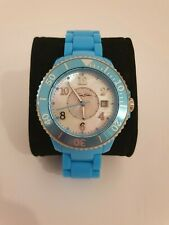 THOMAS SABO Ladies Glam & Soul Blue Resin Bracelet Watch - mother of pearl