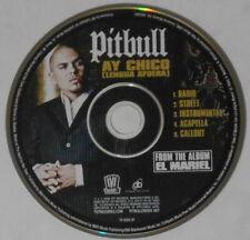 Pitbull - Ay Chico x5 - original U.S. promo cd