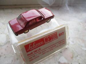 Schuco 1:66 Audi LS 100 von 1970 rot mit OVP