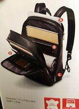 Samsonite classic brown leather backpack