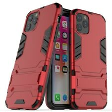 For iPhone 11 Pro Case Rubber Robot Armor Shell Hard PC TPU Back Phone Cover