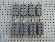 LEGO 8 x Achse 6249  neu dunkelgrau 2x4 mit 2 Pins 7344 3677 7965