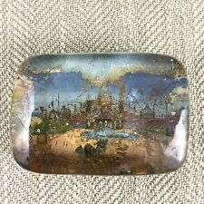Antique French Paperweight Souvenir EXPOSITION UNIVERSELLE 1900 France Fair