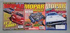 Mopar Muscle Magazine 2001 - Lot de 3 Complet Issues