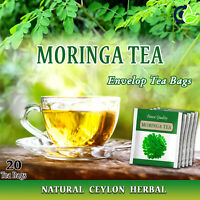 Moringa Tea - High quality Envelop Tea bags - Natural Body Booster -20 tea bags