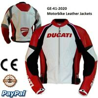Ducati Motorcycle motorbike Riding Leather Racing Jackets GE-41-2020 (US 38-48)