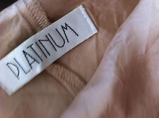 PLATINUM GONNA ORO SPLENDIDA L / XL NUOVA
