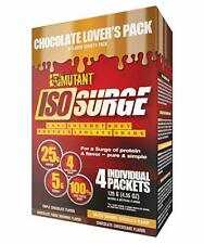 Mutant | ISO Surge 100% Whey Protein Isolate | Chocolate Lovers | 4 Packets