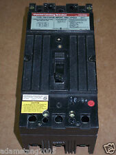 General Electric THLC 3 pole 100 amp 480v THLC134100 Circuit Breaker GE Chipped