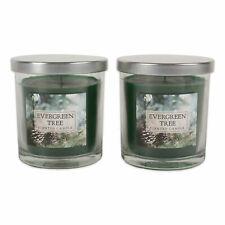 Design Imports Dii Evergreen Tree Single Wick Candle (Set of 2)