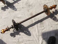 go kart historic/classic 100cc 30mm rear axle and components inc hubs