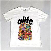 Alife x Steven Darden Artist T-Shirt | Small | White/Multicoloured | Rare