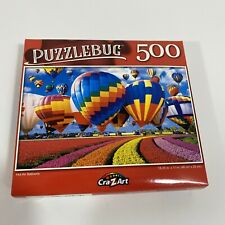 New Puzzlebug 500 Piece Jigsaw Puzzle ~ Hot Air Balloons