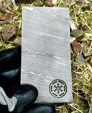 More details for star wars beskar ingot-mandalorian iron-hand forged real damascus steel billet