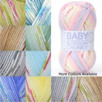 Sirdar Hayfield Baby Blossom Chunky 100g Ball Knit Craft Yarn