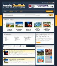 Camping Classifieds Website Buy Sell Camp Equipment Gear Business Opportunity