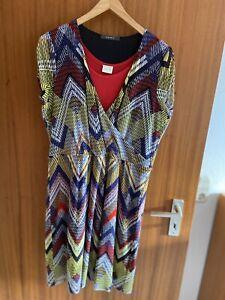 Schickes Esprit Kleid Gr XXL mit Seiden Unterkleid