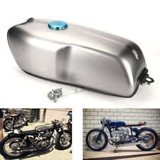9L / 2.4 Gallon Universal Custom Cafe Racer Gas Fuel Tank for BMW Honda Yamaha