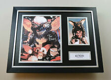 Joe Dante Signed Photo Framed 16x12 Gremlins Autograph Display Memorabilia + COA