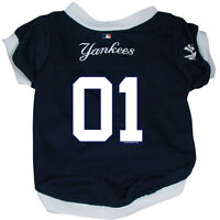 NEW NY NEW YORK YANKEES PET DOG BASEBALL JERSEY LARGE LICENSED