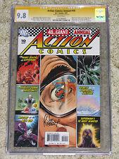 Action Comics Annual 10 CGC SS 9.8 signed by Joe Kubert (1926-2012)