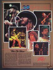 1985 .38 Special Tour De Force photo vintage Peavey ad