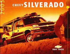 2003 Chevrolet Silverado Truck 32-page Sales Brochure Catalog - 2500 HD 1500