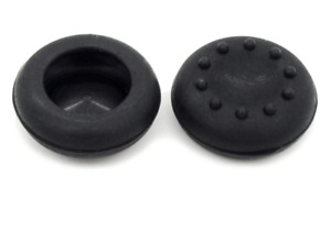 2x Black Joystick Thumb Caps Cover Silicone Nintendo SWITCH | WII U | PS4 | XBOX