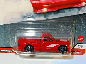 HOT WHEELS PREMIUM CAR CULTURE POWER TRIP RED 1991 GMC SYCLONE PICKUP TRUCK