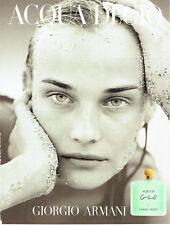 Publicité Advertising 088  1997  parfum  femme Aqua  di  Gio  Giorgio Armani