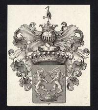 16)Nr.116- EXLIBRIS- Heraldik / heraldry - Künstler unbekannt - um 1800
