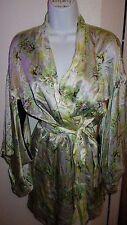 NWT $168 Victoria's Secret Designer Silk Kimono Robe M/L
