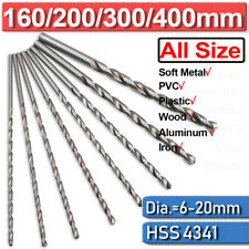 400mm Extra Long Masonry Drill Bits 6mm - 20mm Diameter Brick Concrete Stone 300