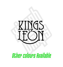 Kings Of Leon pegatina de vinilo calcomanía Cd auto con el logotipo de la piel Mac Ipad