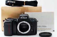 Nikon F-601 QUARTZ DATE 35mm Film Camera Black Body w/ Strap / Manual / Cap /Box