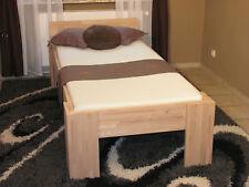 Massivholz Bett 100x200 FußI Seniorenbett Gästebett Futonbett Buche Schlafzimmer