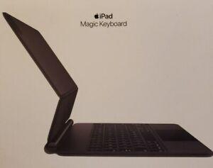 Apple Magic Keyboard for iPad Air 4th Generation and iPad Pro 11-inch, MXQT2LL/A