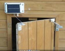 Module de Porte automatique solaire pour poulailler