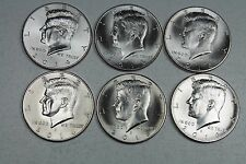 2014 2015 2016 P & D Kennedy Half Dollar Uncirculated  Set from Mint Rolls