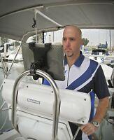Sail-Boat Helm Tablet Mount for Apple iPad Air, iPad Samsung Galaxy Note TAB127