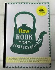 FLOW For Paper Lovers BOOK OF POSTERS & CARDS 2017 PullOut Calendar 50+ GOODIES