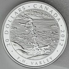 Canada 2012 $20 Stormy Weather, F.H. Varley, Group of Seven, Pure Silver Proof
