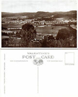 1930's ABERFELDY FROM THE NORTH PERTH KINROSS SCOTLAND UNUSED POSTCARD