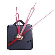 20X(1 Set Silent Large Wall Clock Quartz Movement Mechanism Black And Red Hands