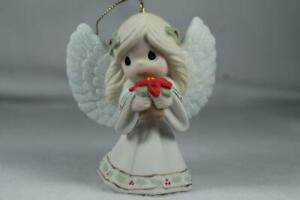Precious Moments-'May Your Christmas Blossom W/Peace..' 2021 Angel Orn. #211020