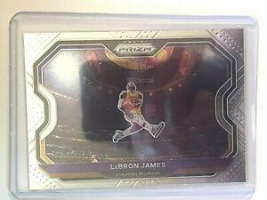 2020-21 PRIZM BASKETBALL BASE #1 LeBRON JAMES LOS ANGELES LAKERS