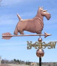 """LARGE COPPER   """" SCOTTIE DOG """" WEATHERVANE  MADE IN USA #116S"""