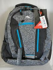 High Sierra Modi Backpack Bags Static/Mercury/Pool Blue & Gray NWT
