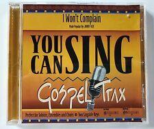 You Can Sing Gospel - John P. Kee I won't complain - accompaniment track cd new